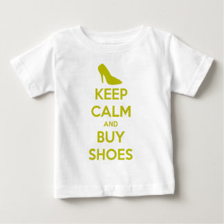 Keep Calm & Buy Shoes Baby T-Shirt
