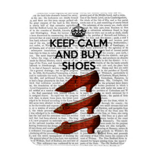 Keep Calm Buy Shoes Rectangular Photo Magnet