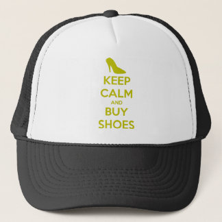 Keep Calm & Buy Shoes Trucker Hat