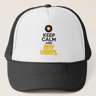 Keep Calm & Buy Vinyl Trucker Hat