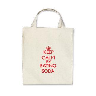 Keep calm by eating Soda Bag