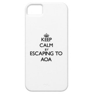 Keep calm by escaping to Aoa Samoa iPhone 5 Covers