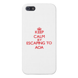 Keep calm by escaping to Aoa Samoa Case For iPhone 5