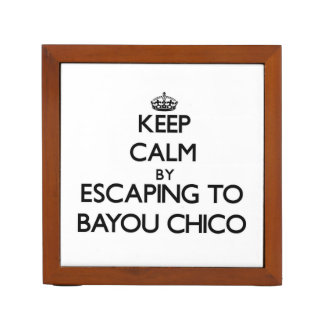 Keep calm by escaping to Bayou Chico Florida Desk Organisers