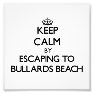Keep calm by escaping to Bullards Beach Oregon Photo Print