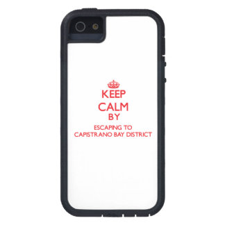 Keep calm by escaping to Capistrano Bay District C iPhone 5 Case
