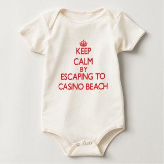 Keep calm by escaping to Casino Beach Florida Bodysuit