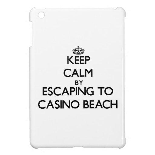 Keep calm by escaping to Casino Beach Florida iPad Mini Cover