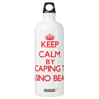 Keep calm by escaping to Casino Beach Florida SIGG Traveler 1.0L Water Bottle