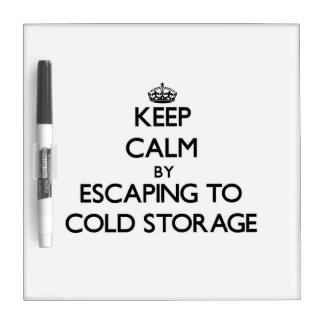 Keep calm by escaping to Cold Storage Massachusett Dry Erase Whiteboards