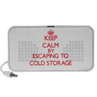 Keep calm by escaping to Cold Storage Massachusett PC Speakers