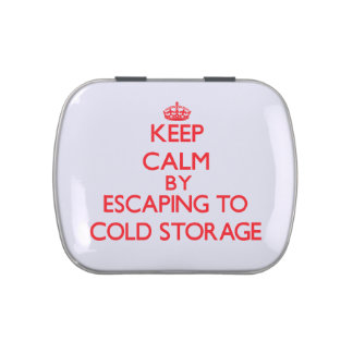 Keep calm by escaping to Cold Storage Massachusett Jelly Belly Candy Tin