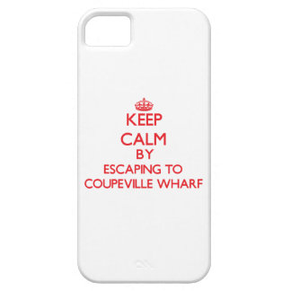 Keep calm by escaping to Coupeville Wharf Washingt iPhone 5 Cover