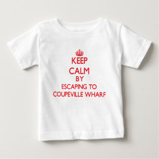Keep calm by escaping to Coupeville Wharf Washingt Tshirt