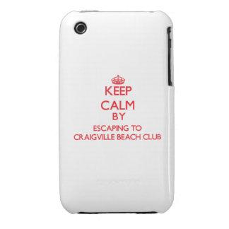Keep calm by escaping to Craigville Beach Club Mas Case-Mate iPhone 3 Case