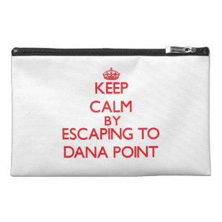 Keep calm by escaping to Dana Point California Travel Accessories Bags