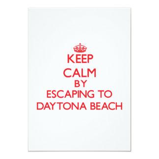 Keep calm by escaping to Daytona Beach Florida Announcement