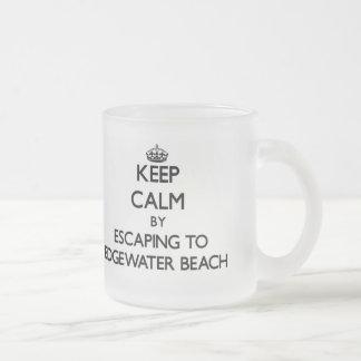 Keep calm by escaping to Edgewater Beach Florida Mug