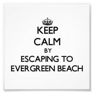 Keep calm by escaping to Evergreen Beach Michigan Photo
