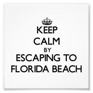 Keep calm by escaping to Florida Beach Florida Photo Art