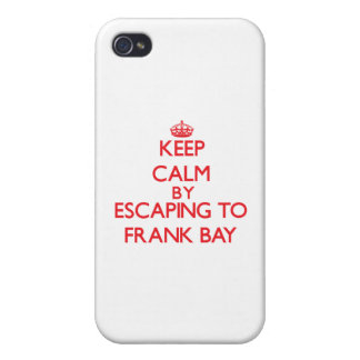 Keep calm by escaping to Frank Bay Virgin Islands iPhone 4 Covers
