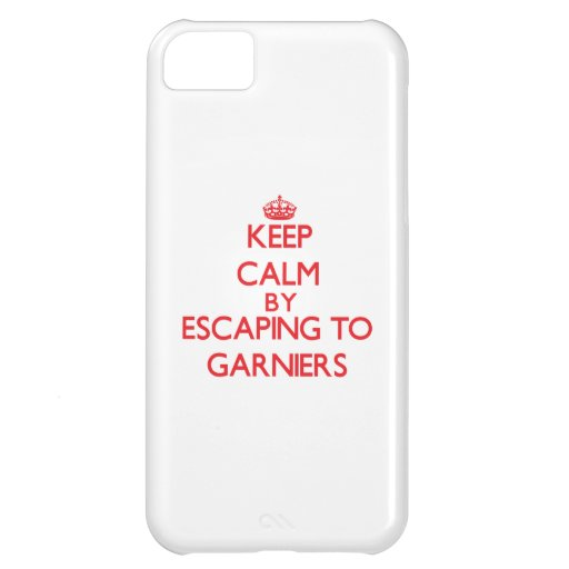 Keep calm by escaping to Garniers Florida iPhone 5C Covers