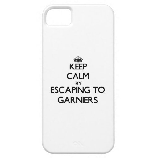 Keep calm by escaping to Garniers Florida iPhone 5 Covers