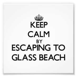 Keep calm by escaping to Glass Beach Hawaii Photo