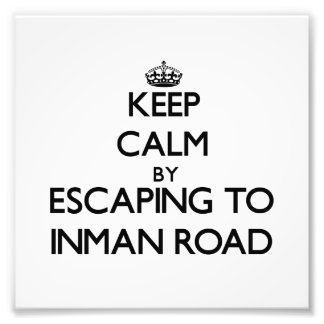 Keep calm by escaping to Inman Road Massachusetts Art Photo