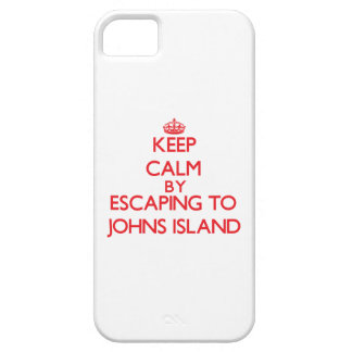 Keep calm by escaping to Johns Island Washington iPhone 5 Case