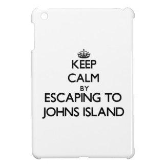 Keep calm by escaping to Johns Island Washington iPad Mini Case