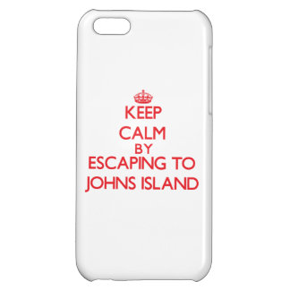 Keep calm by escaping to Johns Island Washington Cover For iPhone 5C