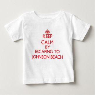 Keep calm by escaping to Johnson Beach Florida Shirt