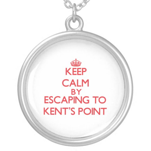 Keep calm by escaping to Kent'S Point Massachusett Custom Jewelry