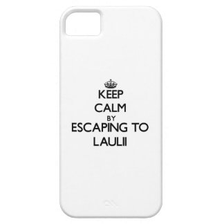 Keep calm by escaping to Laulii Samoa iPhone 5 Cover