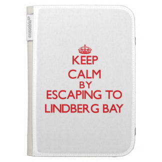 Keep calm by escaping to Lindberg Bay Virgin Islan Kindle 3 Cover