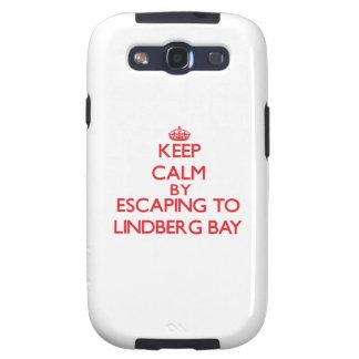 Keep calm by escaping to Lindberg Bay Virgin Islan Samsung Galaxy S3 Cases