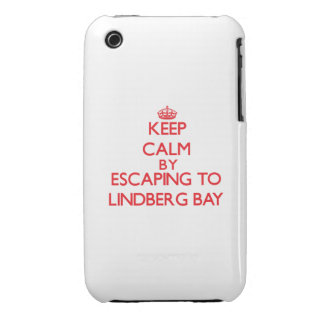 Keep calm by escaping to Lindberg Bay Virgin Islan iPhone 3 Cases
