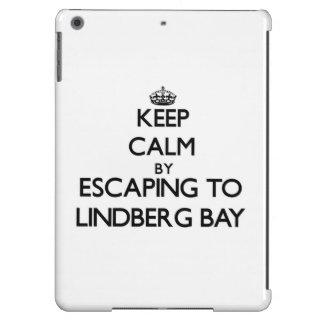 Keep calm by escaping to Lindberg Bay Virgin Islan iPad Air Covers