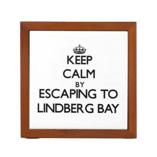 Keep calm by escaping to Lindberg Bay Virgin Islan Desk Organisers