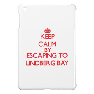 Keep calm by escaping to Lindberg Bay Virgin Islan iPad Mini Covers