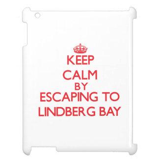 Keep calm by escaping to Lindberg Bay Virgin Islan iPad Case