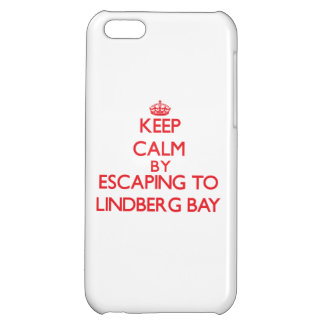Keep calm by escaping to Lindberg Bay Virgin Islan Cover For iPhone 5C