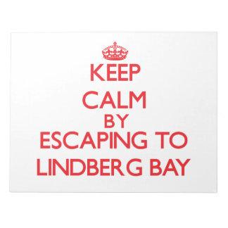 Keep calm by escaping to Lindberg Bay Virgin Islan Scratch Pad