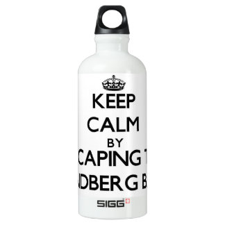 Keep calm by escaping to Lindberg Bay Virgin Islan SIGG Traveller 0.6L Water Bottle