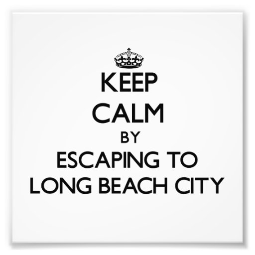 Keep calm by escaping to Long Beach City New York Photo