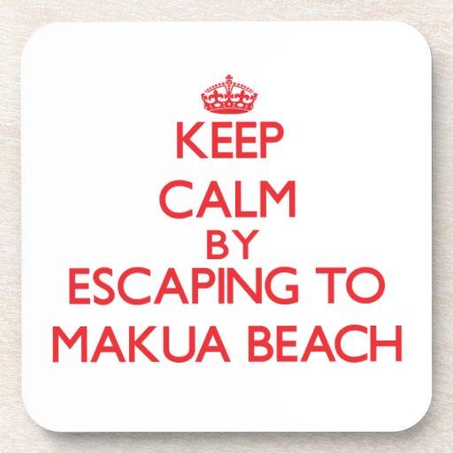 Keep calm by escaping to Makua Beach Hawaii Coasters