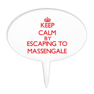 Keep calm by escaping to Massengale Georgia Cake Picks