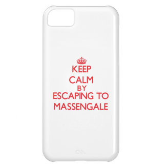 Keep calm by escaping to Massengale Georgia iPhone 5C Case