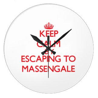 Keep calm by escaping to Massengale Georgia Clocks